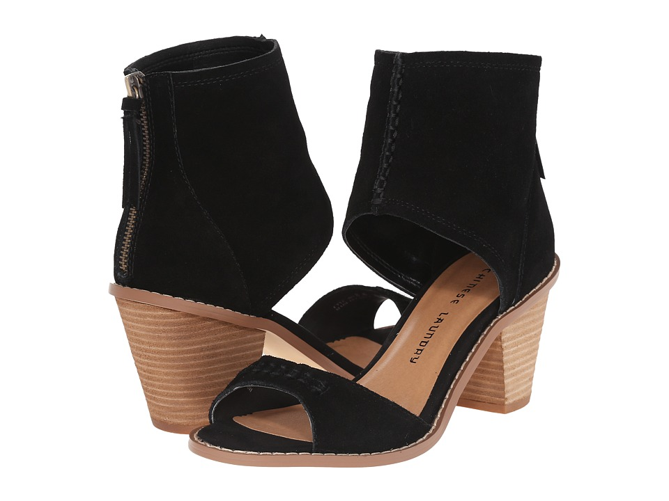 Chinese Laundry Cobbler (Black Split Suede) Women