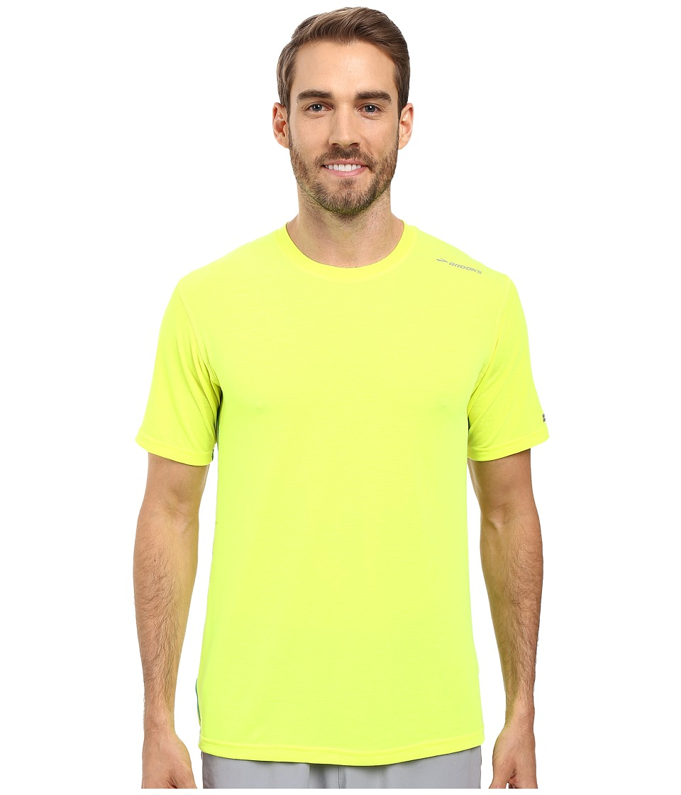 Brooks - Distance Short Sleeve (Nightlife) Men's Short Sleeve Pullover