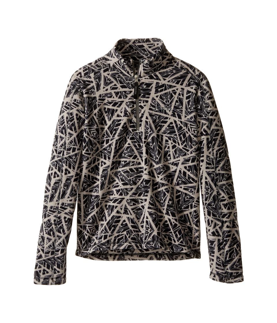 Marmot Kids - Boy's Rocklin 1/2 Zip (Little Kids/Big Kids) (Black Shred) Boy's Sweatshirt
