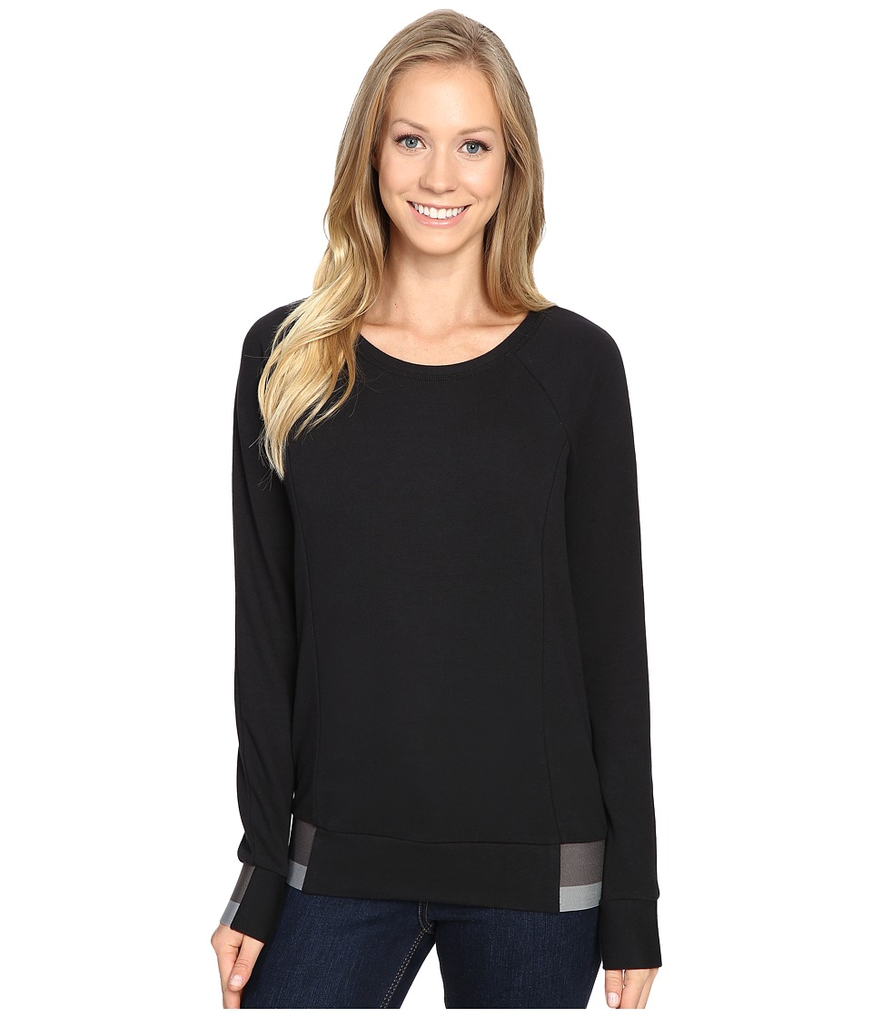 The North Face - Street Lounge Crew (TNF Black (Prior Season)) Women's Long Sleeve Pullover