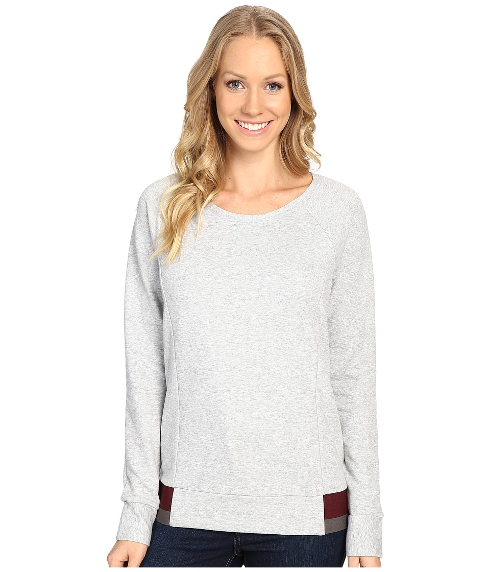 The North Face - Street Lounge Crew (TNF Light Grey Heather) Women's Long Sleeve Pullover