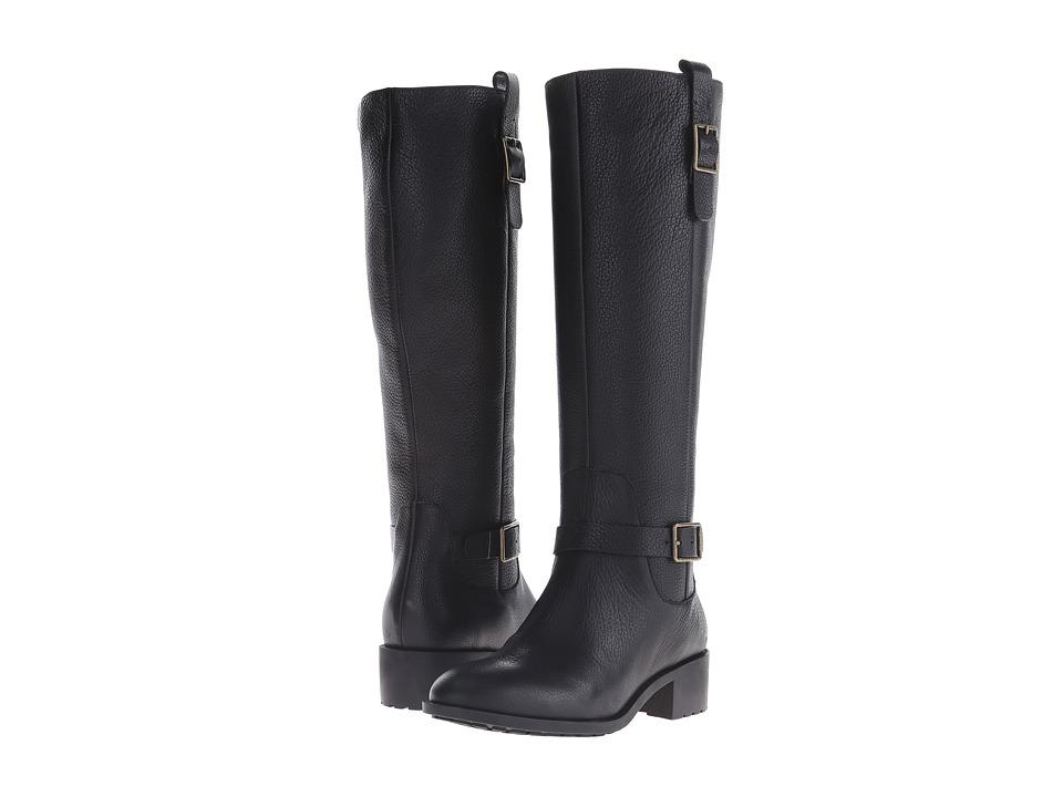 Cole Haan - Kenmare Boot (Black Leather) Women's Zip Boots
