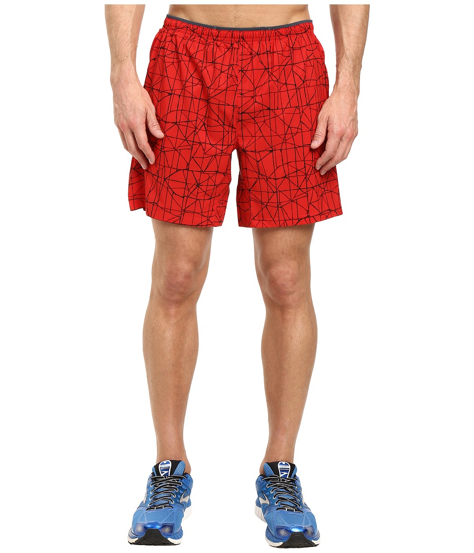 Brooks - Sherpa 7 2-in-1 Shorts (Lava Tangent) Men's Shorts