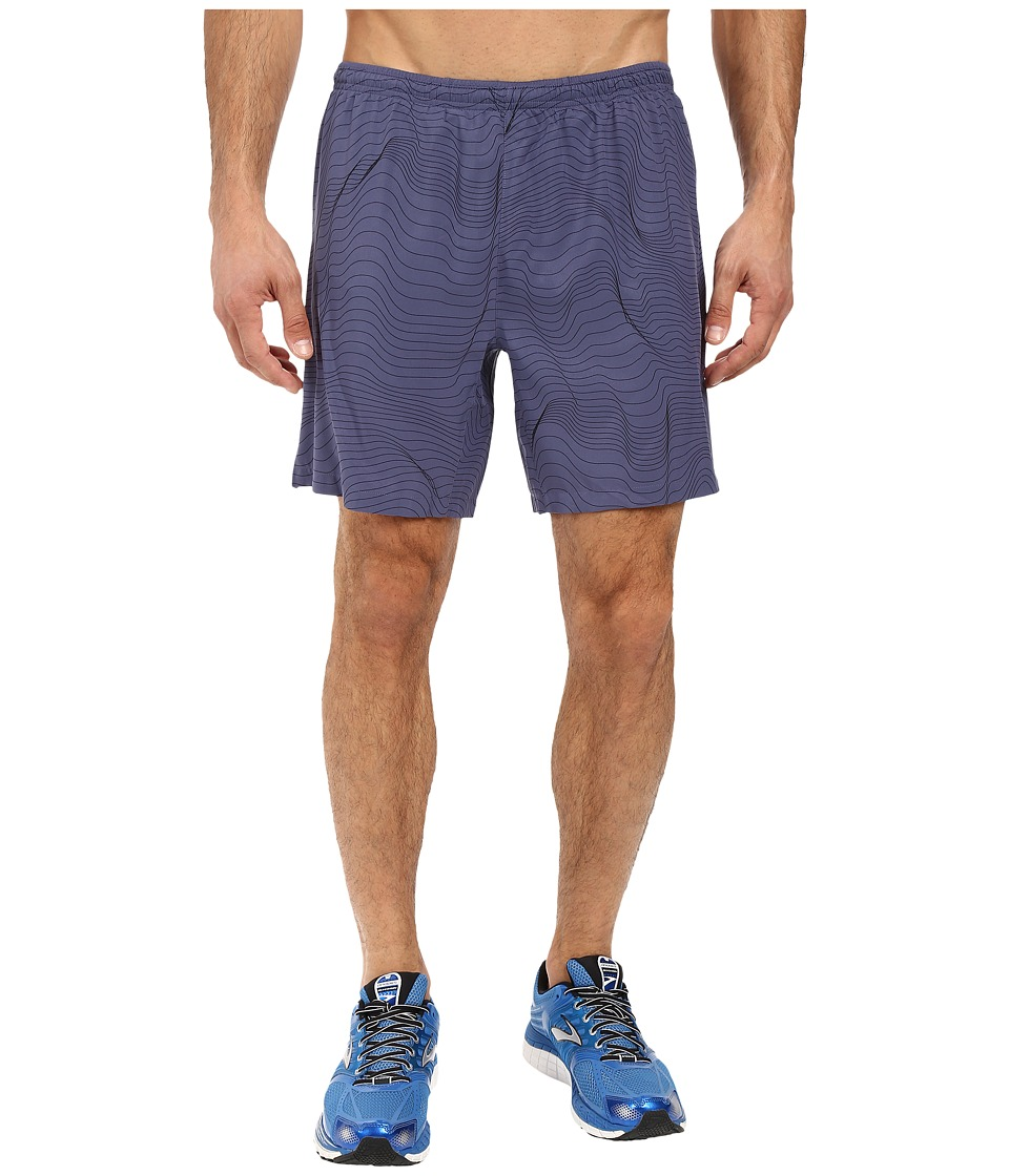 Brooks - Sherpa 7 2-in-1 Shorts (Coast Forge) Men's Shorts