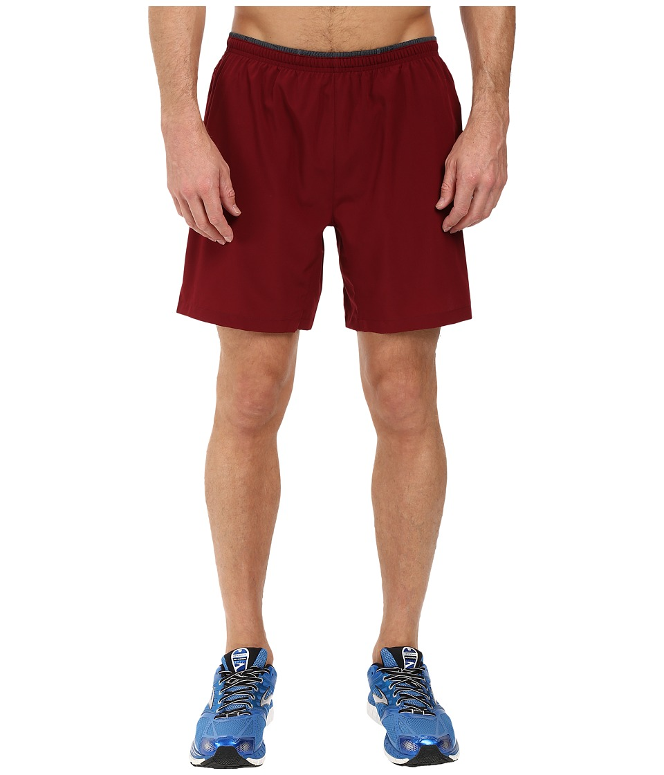 Brooks - Sherpa 7 2-in-1 Shorts (Root) Men's Shorts