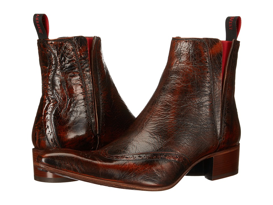 Jeffery-West - Rochester (Mid Brown Botticelli) Men's Shoes