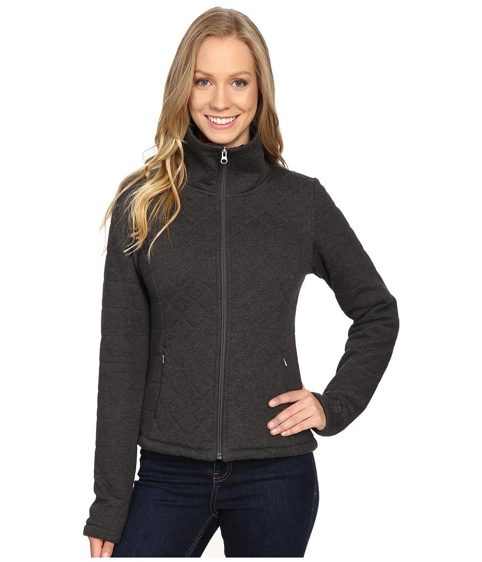 The North Face Caroluna Crop Jacket (TNF Dark Grey Heather) Women