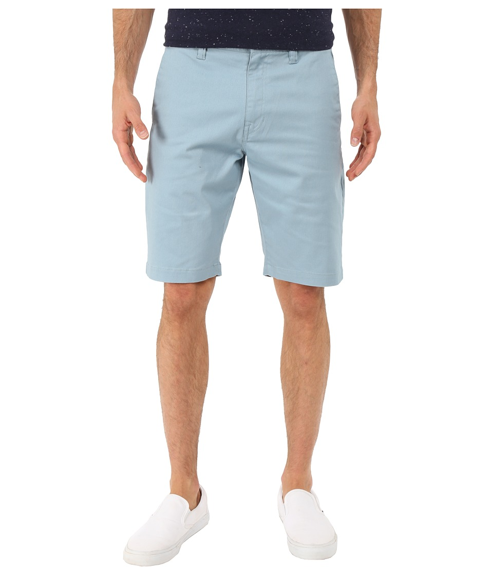 Volcom - Frickin Modern Stretch Chino Shorts (Vintage Blue) Men's Shorts