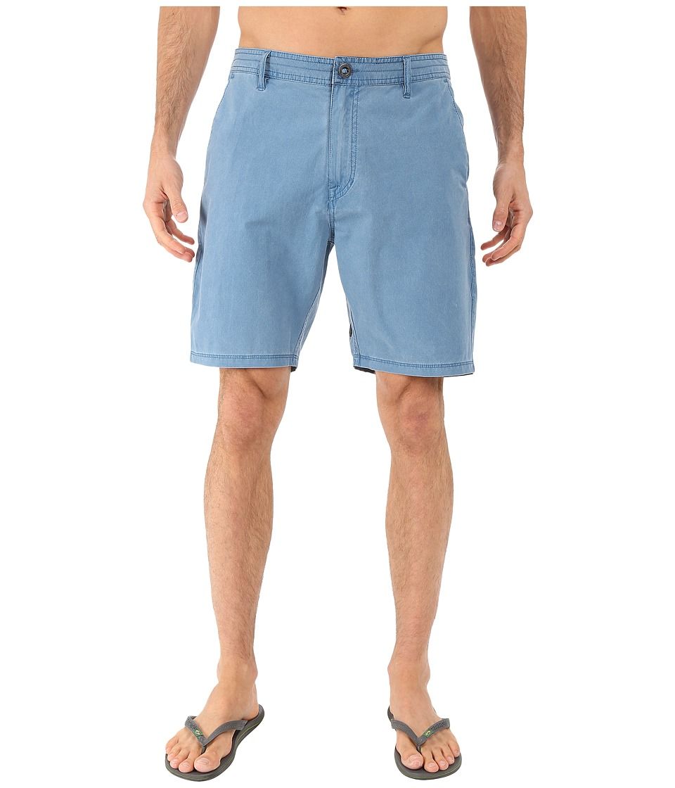 Volcom - SNT Faded Hybrid Shorts (Sun Faded Indigo) Men's Shorts