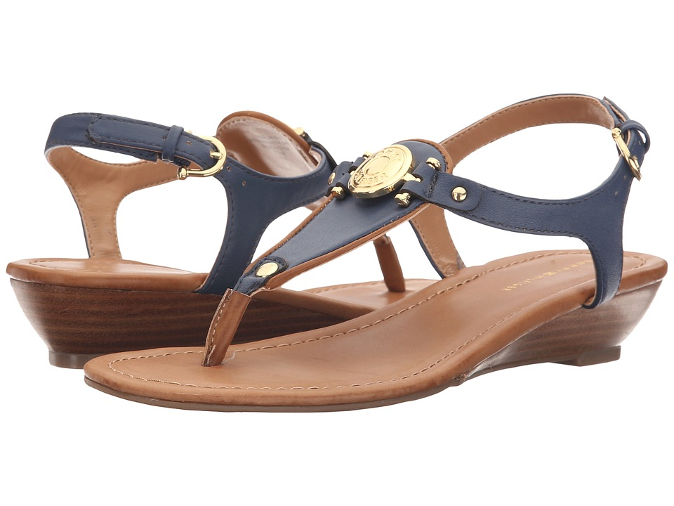 Tommy Hilfiger - Malorien (Navy/Sable) Women's Shoes