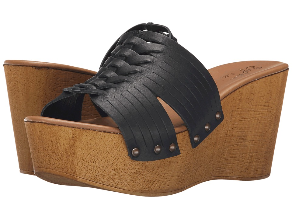 Seychelles - Awe (Black) Women's Wedge Shoes
