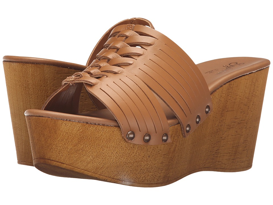 Seychelles - Awe (Tan) Women's Wedge Shoes