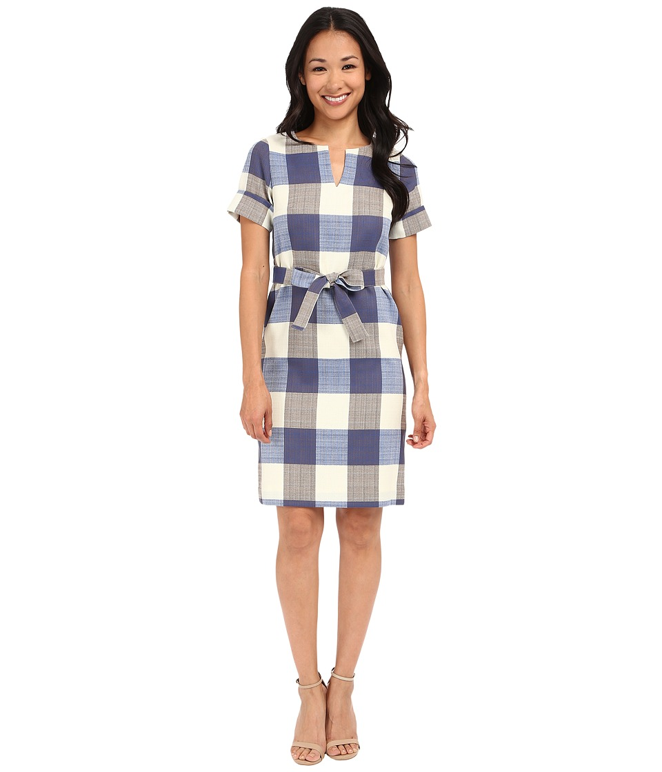 Pendleton - Petite Alex Dress (Novelty Check Wool Linen) Women's Dress