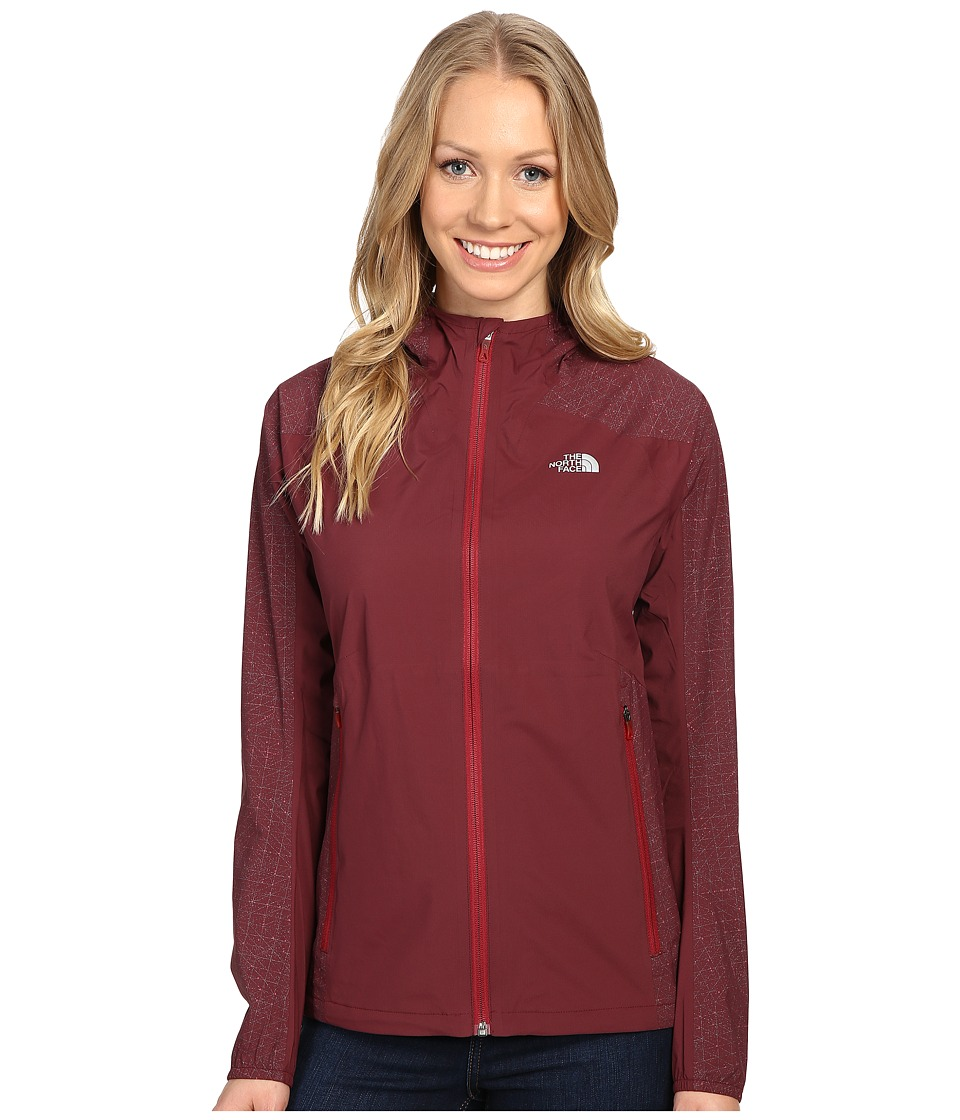 The North Face - Stormy Trail Jacket (Deep Garnet Red) Women's Jacket