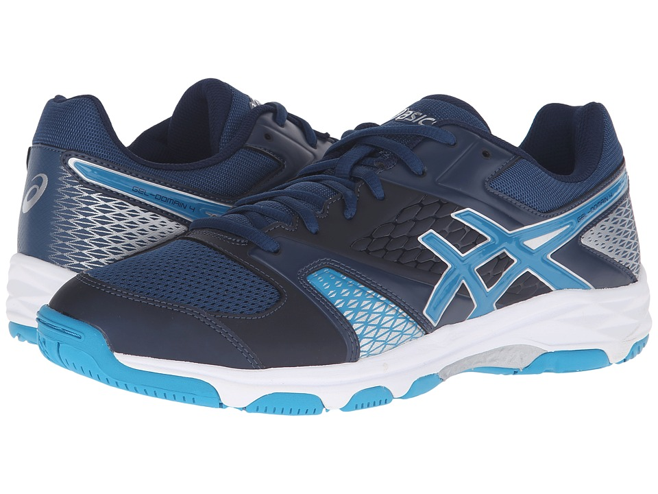 ASICS - Gel-Domain 4 (Poseidon/Blue Jewel/White) Men's Court Shoes