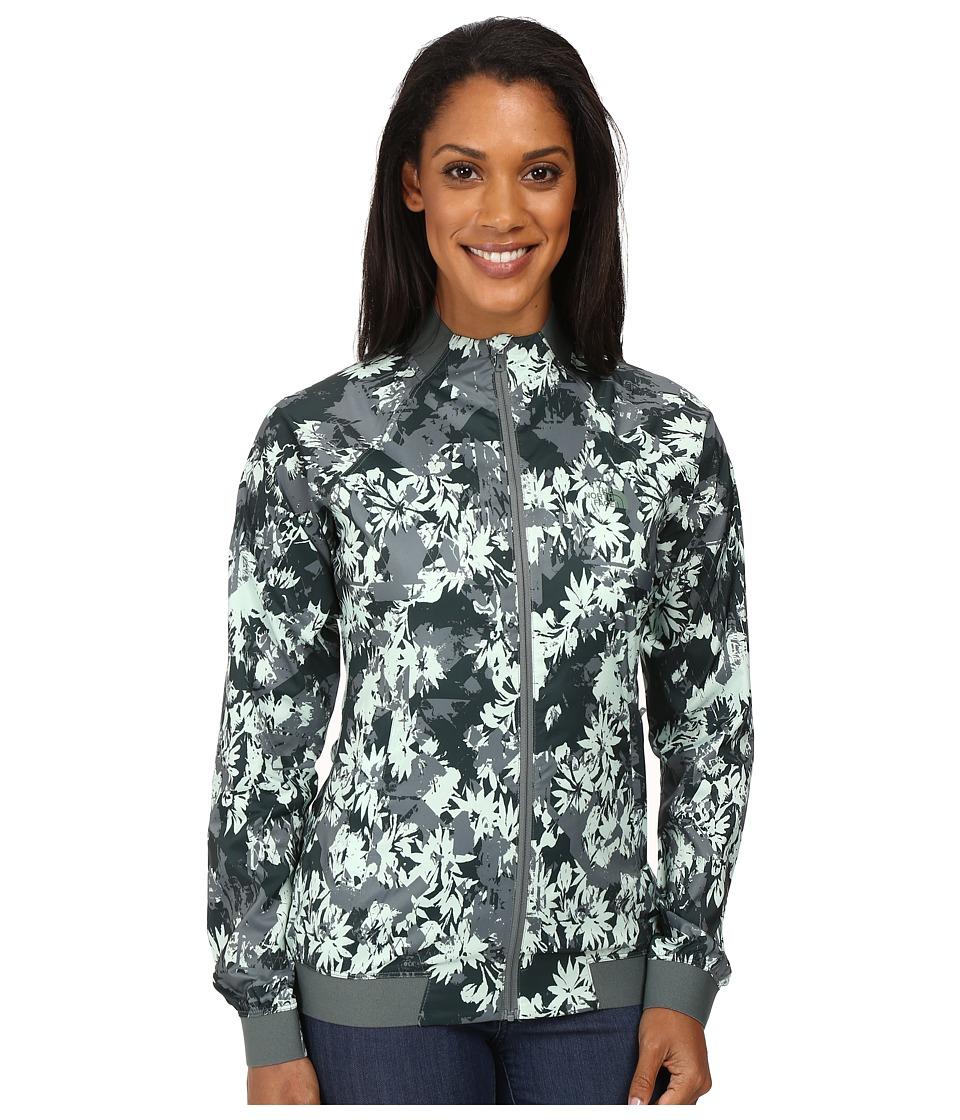 The North Face - Rapida Jacket (Balsam Green City Nature Print) Women's Coat