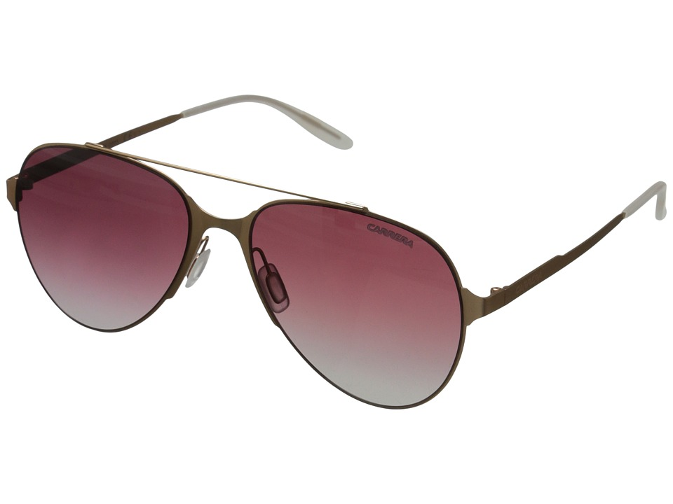 Carrera - Carrera 113/S (Copper Gold/Dark Cyclamen Grey) Fashion Sunglasses