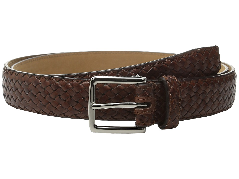 Cole Haan - 30mm Feather Edge Woven Belt (Woodbury) Men's Belts