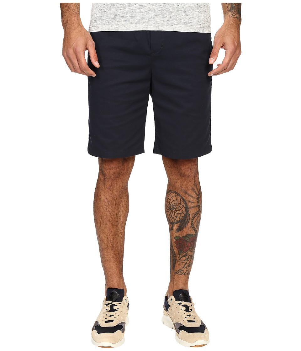 Vince - Cotton Twill Pull-On Shorts (Coastal Blue) Men's Shorts