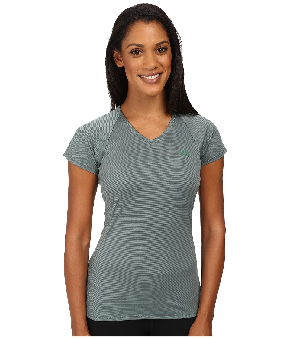 The North Face - Better Than Naked Short Sleeve Top (Balsam Green/Moonlight Ivory) Women's Short Sleeve Pullover