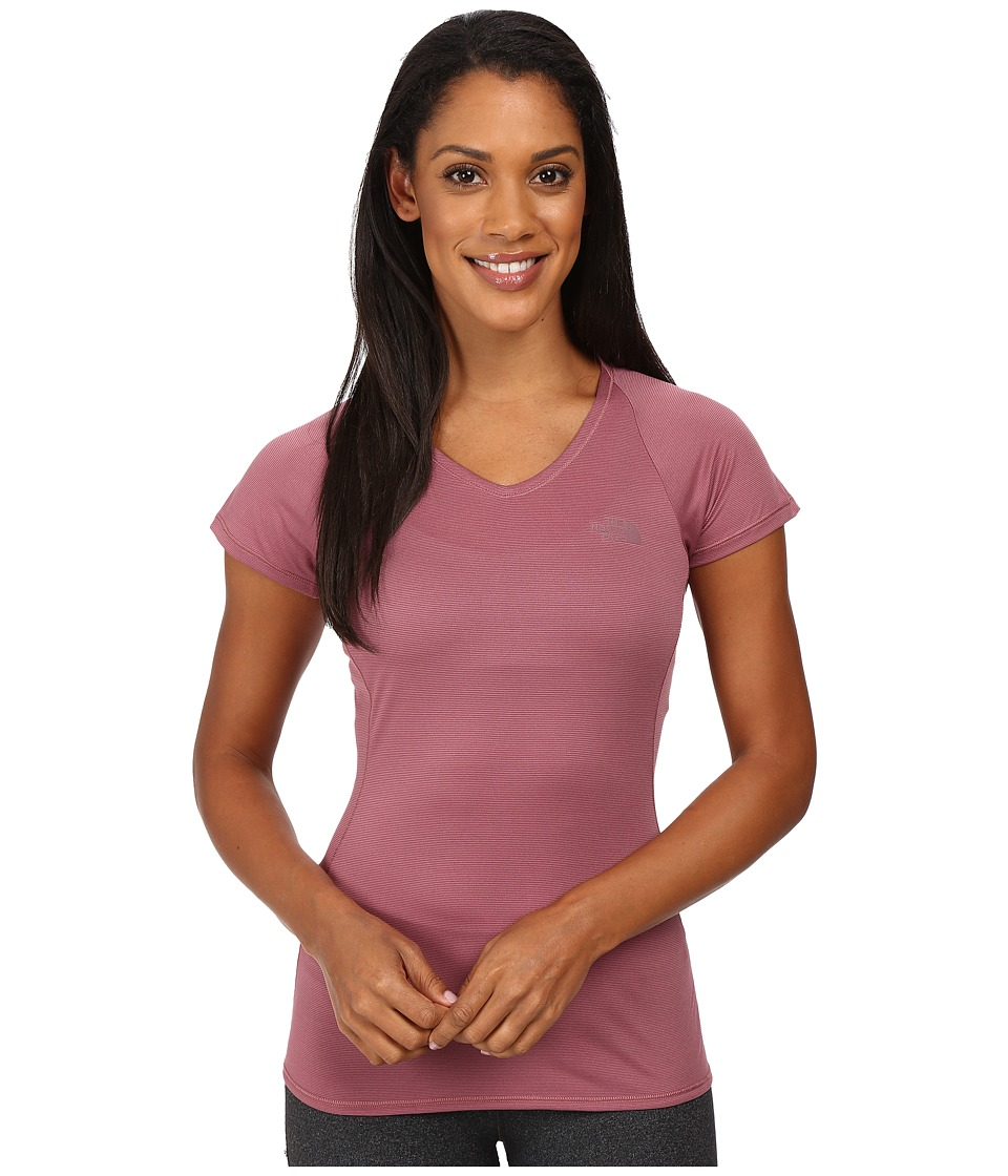The North Face - Better Than Naked Short Sleeve Top (Nostalgia Rose/Moonlight Ivory) Women's Short Sleeve Pullover