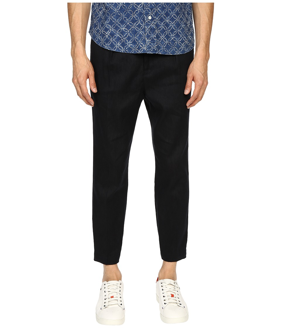 Vince - Urban Cropped Chino (Coastal Blue) Men's Casual Pants