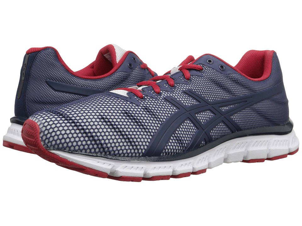 ASICS - JB Elite TR (White/Dark Navy/True Red) Men's Cross Training Shoes