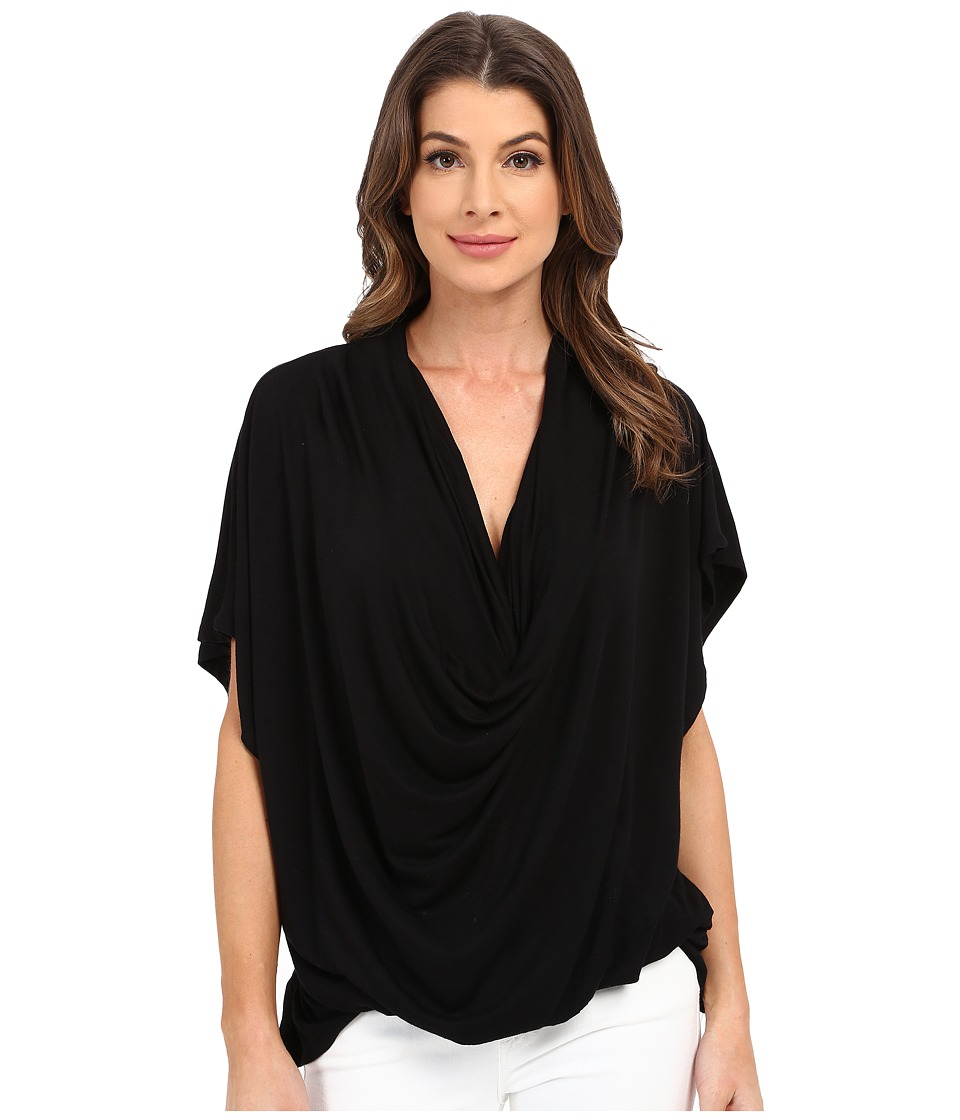 CATHERINE Catherine Malandrino - Pearce Top (Black) Women's Blouse