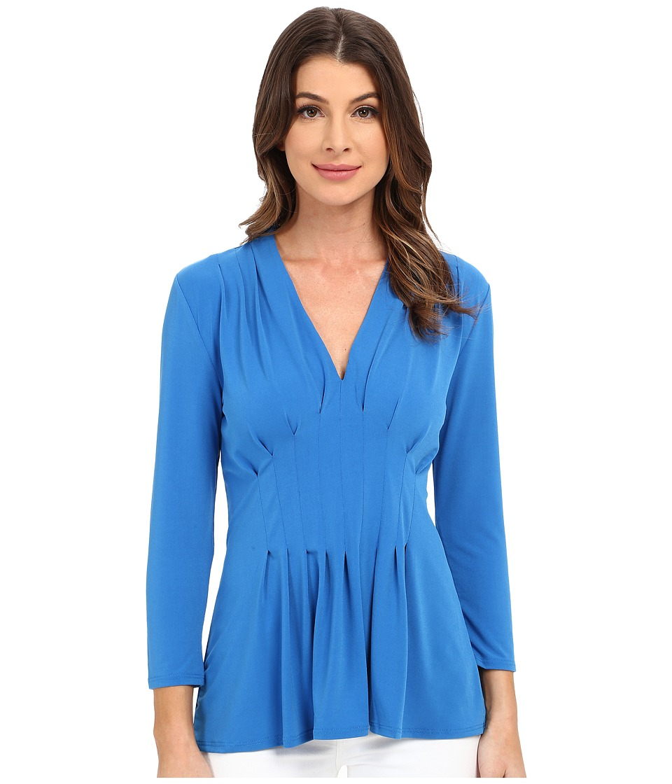 CATHERINE Catherine Malandrino - Rea Top (Mahi Blue) Women's Blouse