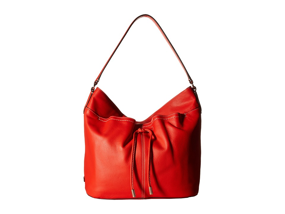 Cole Haan - Reiley Hobo (Citrus Red) Hobo Handbags