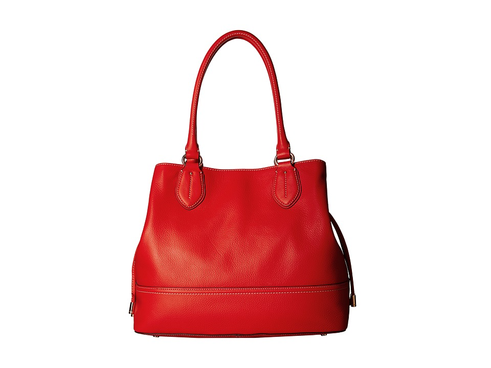 Cole Haan - Reiley Tote (Citrus Red) Tote Handbags