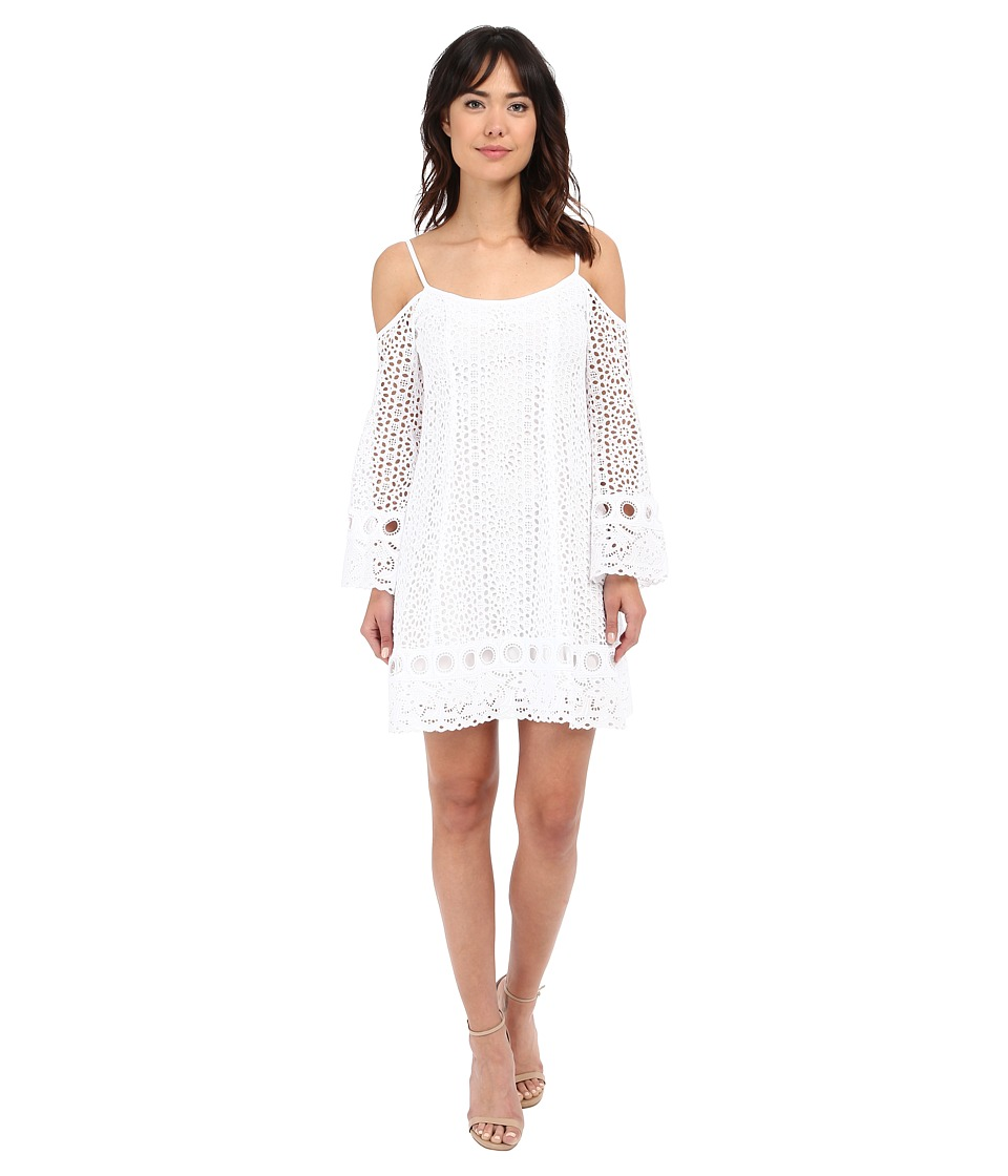 Nanette Lepore Performance Dress (White) Women