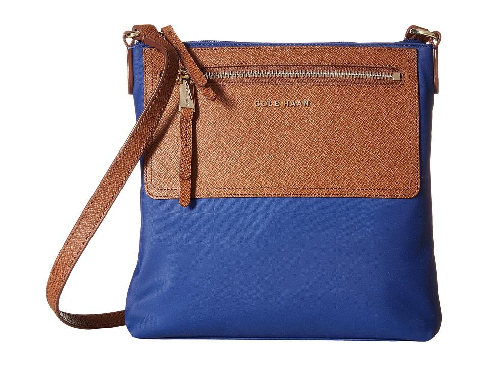 Cole Haan - Acadia N/S Crossbody (Twilight Blue) Cross Body Handbags
