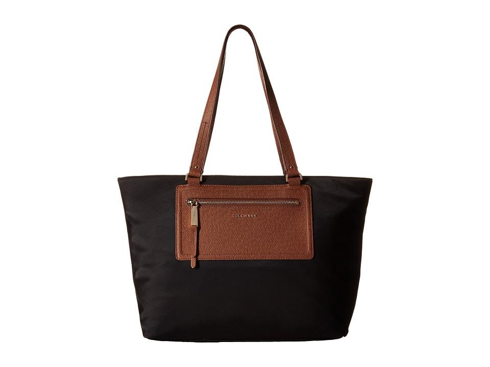Cole Haan - Acadia Tote (Black/Sequoia) Tote Handbags