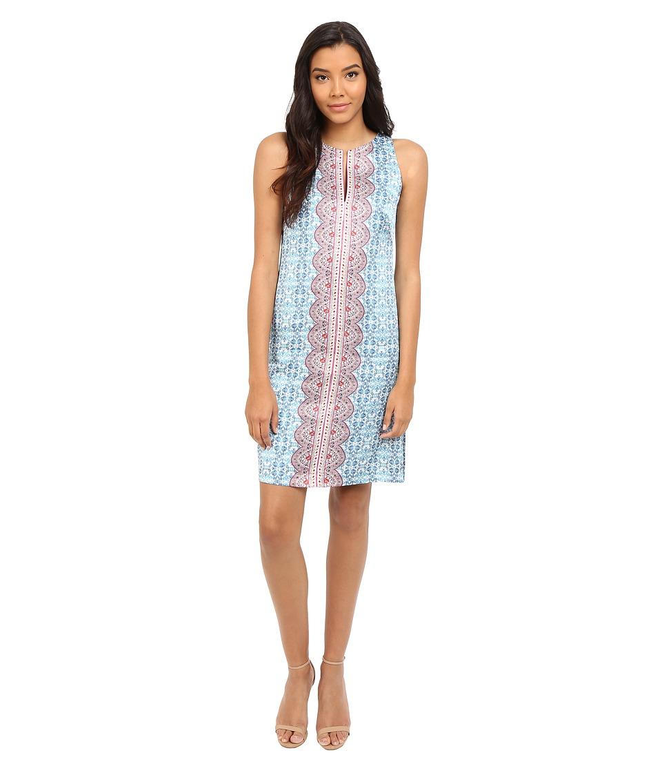 Nanette Lepore - Pretty Porcelain Dress (Light Blue Multi) Women's Dress
