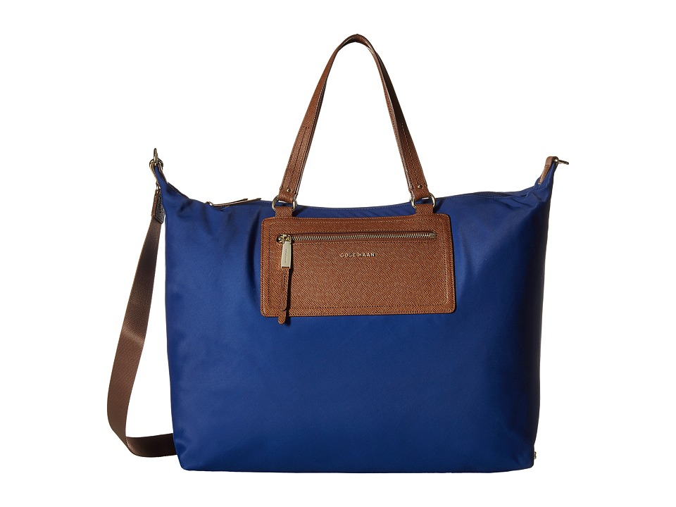 Cole Haan - Acadia Large Tote (Twilight Blue) Tote Handbags