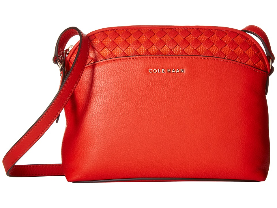 Cole Haan - Luella Crossbody (Citrus Red) Cross Body Handbags