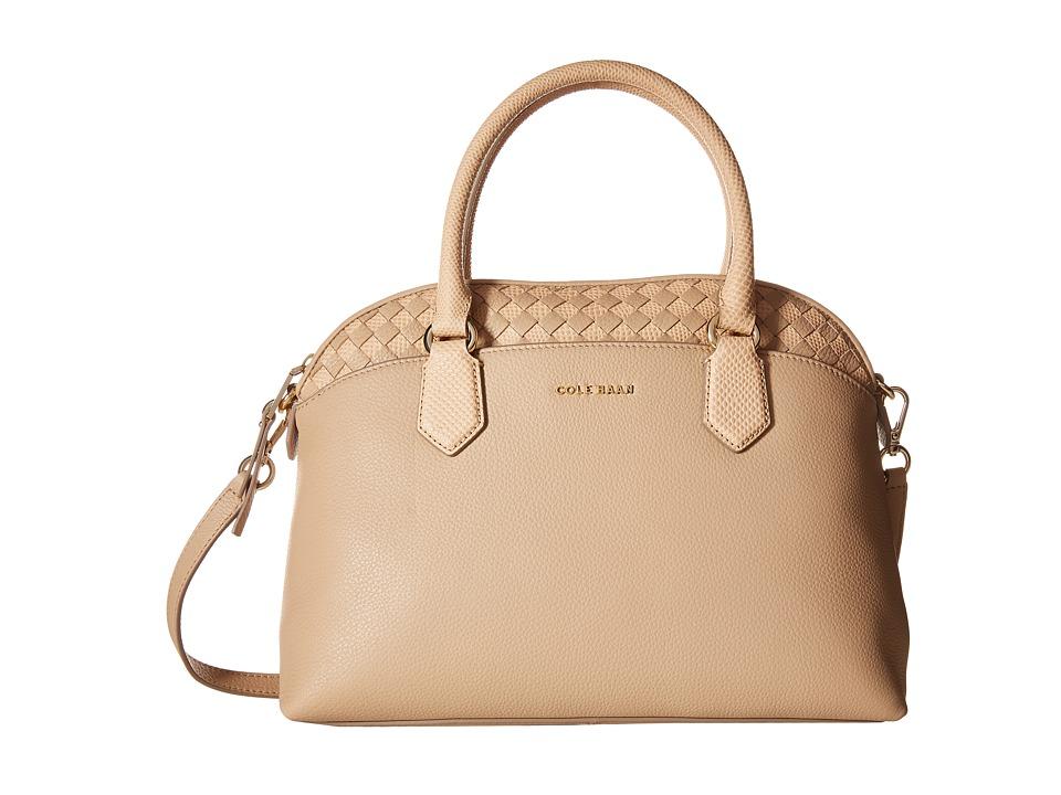 Cole Haan - Luella Satchel (Sandstone) Satchel Handbags