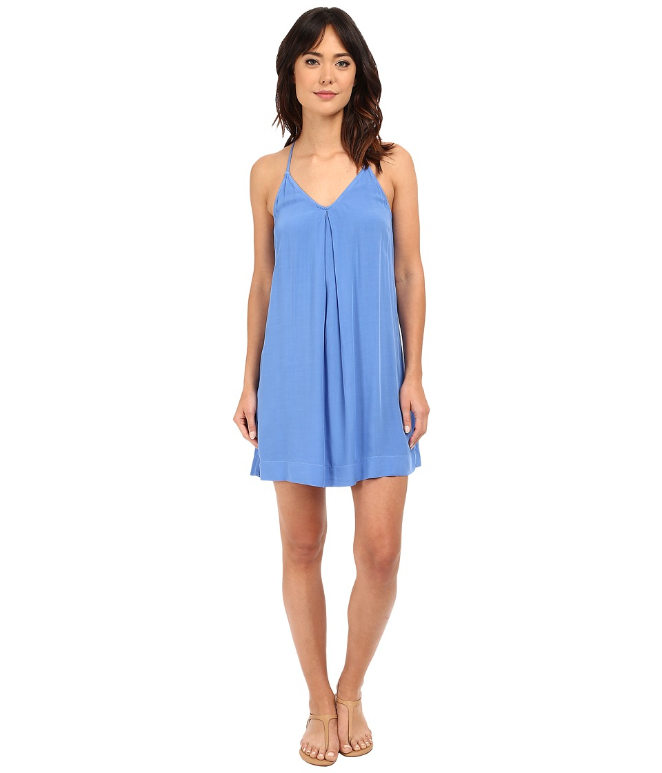 Michael Stars - Modern Rayon Cami Tank Dress (Cove) Women's Dress