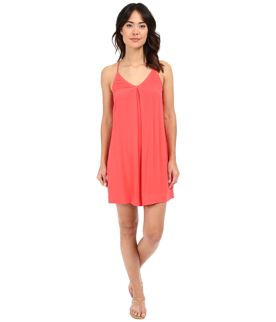 Michael Stars Modern Rayon Cami Tank Dress (Sea Lily) Women
