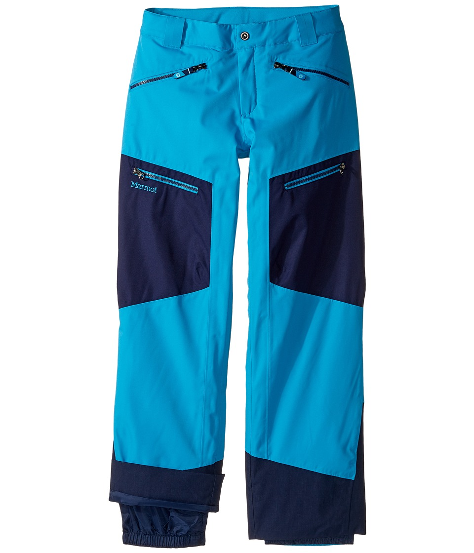 Marmot Kids - Boy's Freerider Pant (Little Kids/Big Kids) (Bahama Blue/Arctic Navy) Boy's Casual Pants