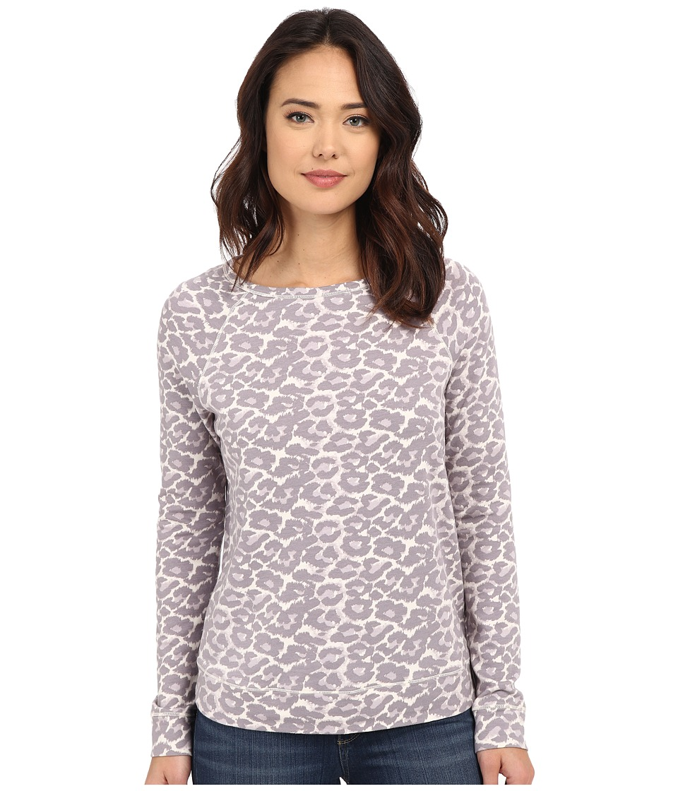Joie - Annora B Top (Soft Grey) Women's Long Sleeve Pullover