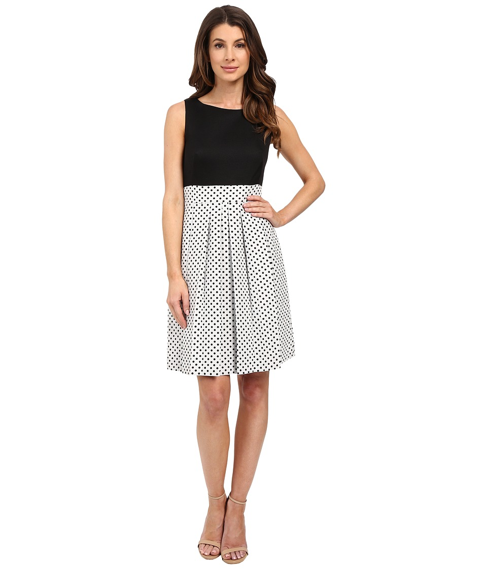 Tahari by ASL - Nicola - Z Dress (White/Black) Women's Dress