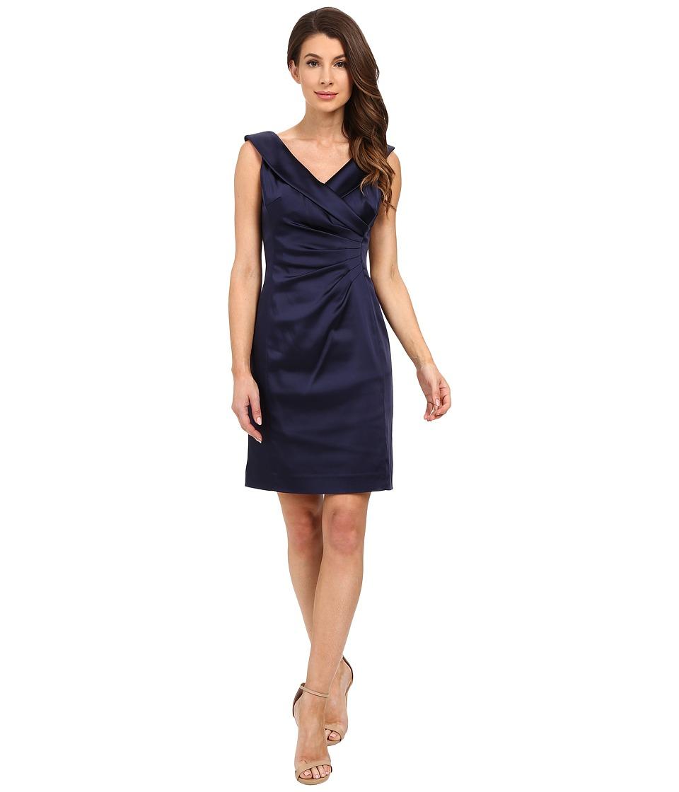 Tahari by ASL - Alena - Z Dress (Navy) Women's Dress