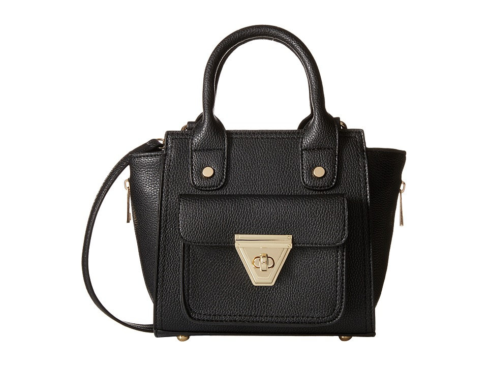 Gabriella Rocha - Fiona Purse with Front Pocket (Black) Satchel Handbags
