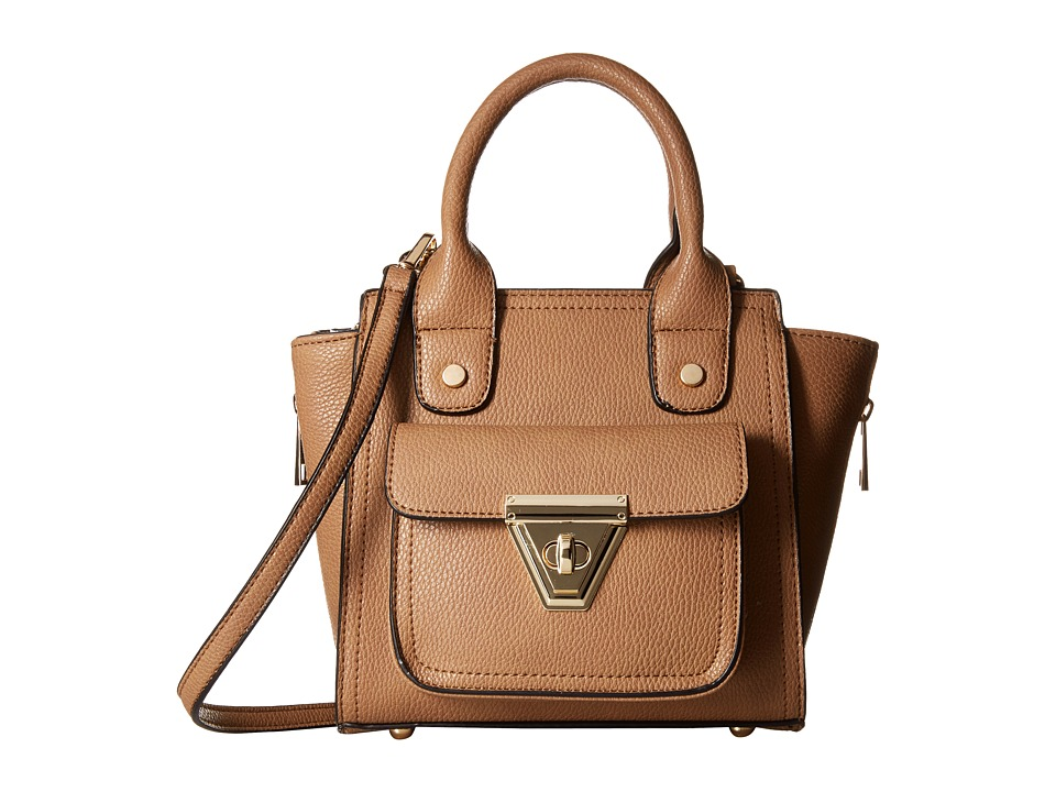 Gabriella Rocha - Fiona Purse with Front Pocket (Taupe) Satchel Handbags