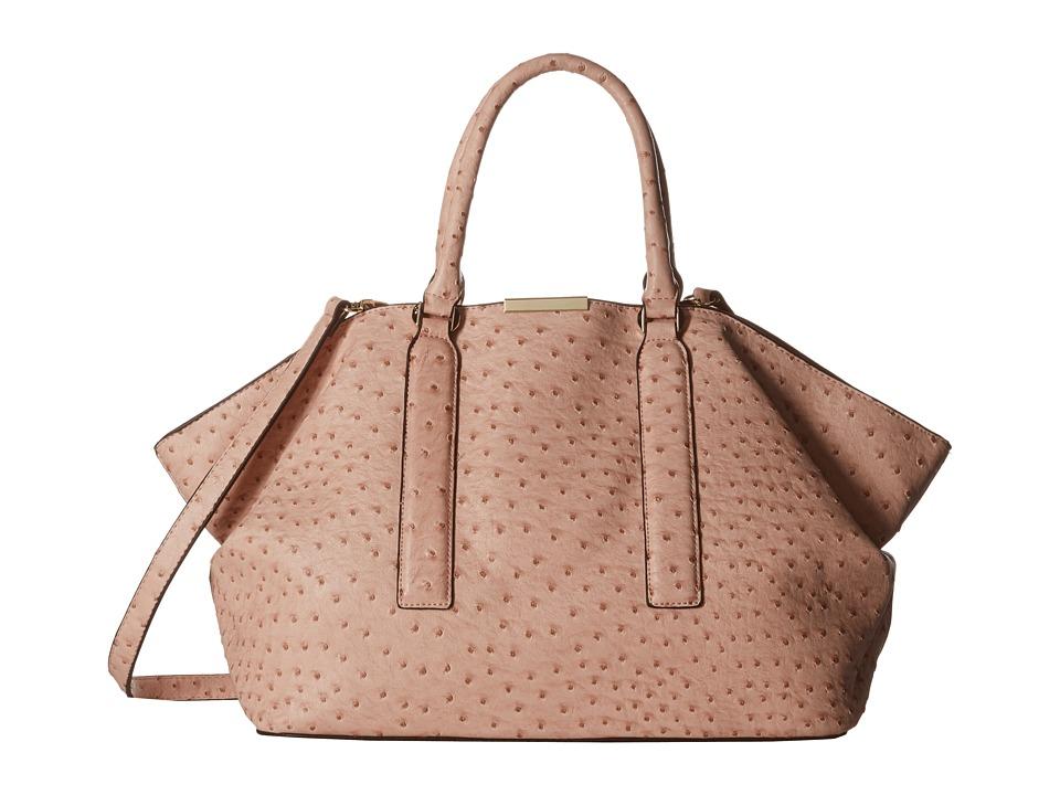 Gabriella Rocha - Briar Ostrich Slouch Purse (Pink) Tote Handbags