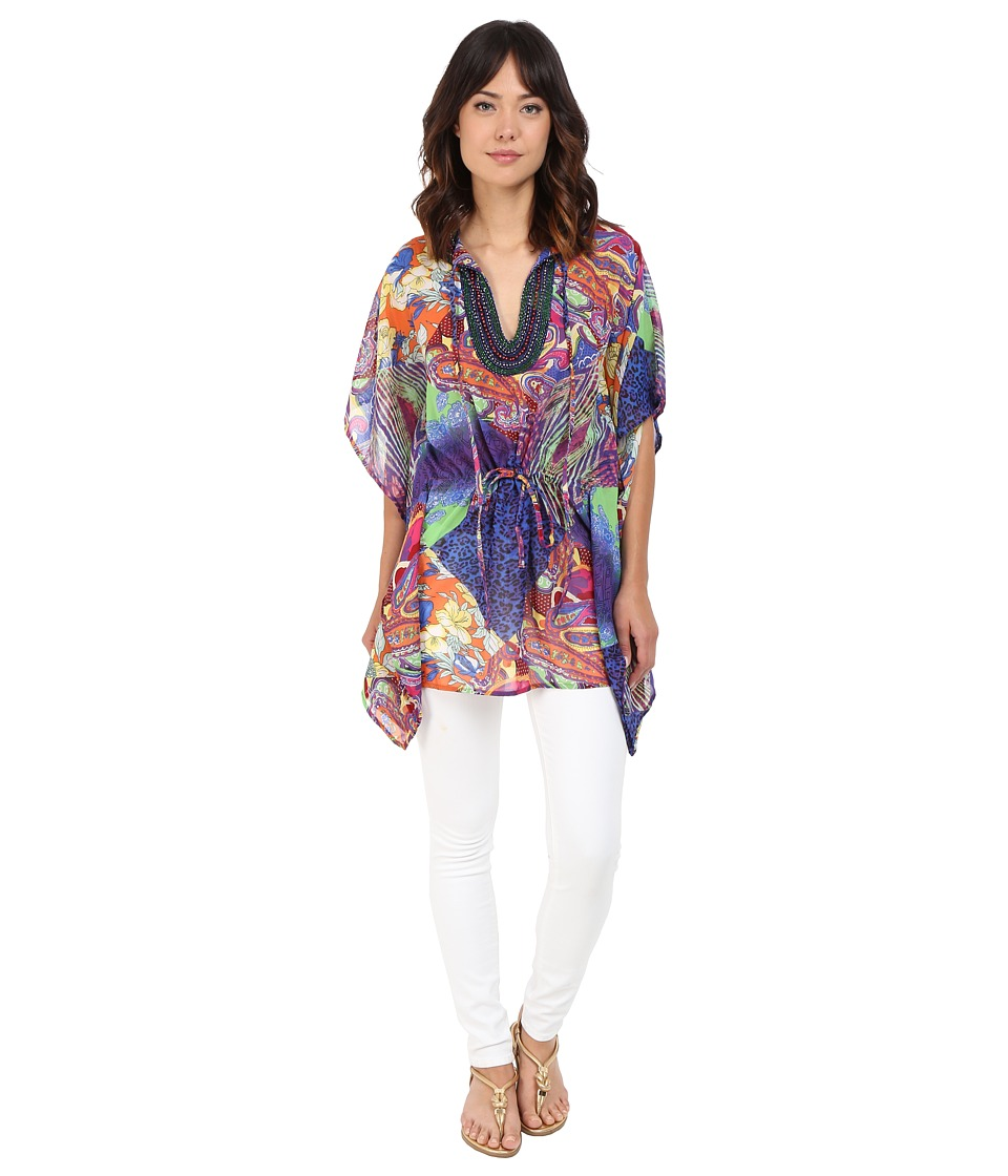 CATHERINE Catherine Malandrino - Cleo Blouse (Jungle Tile) Women's Blouse