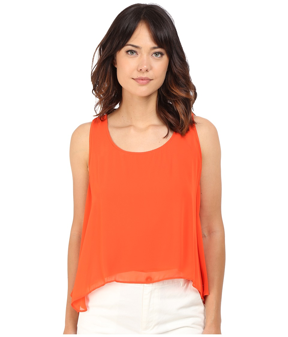 CATHERINE Catherine Malandrino - Cosma Top (Orange Snapdragon) Women's Sleeveless