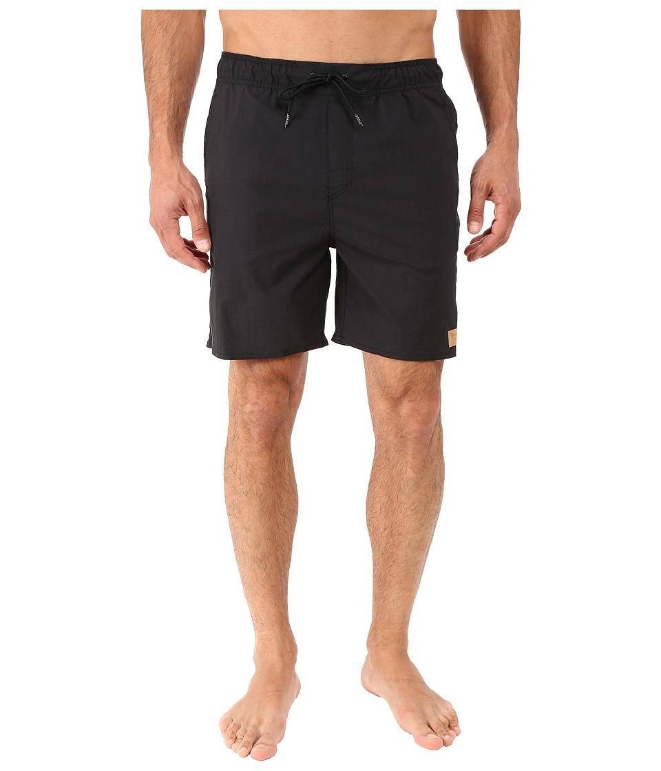 Brixton - Havana Trunk (Black) Men's Swimwear